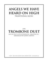 Angels We Have Heard On High - Trombone Duet