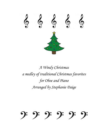 A Windy Christmas medley for oboe and piano