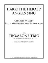 Hark! The Herald Angels Sing -  Trombone Trio