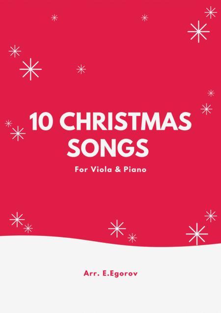 10 Christmas Songs For Viola & Piano