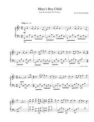 Mary's Boy Child (solo piano, arr. Tim Neumark)