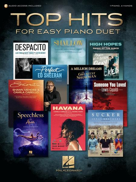 Top Hits for Easy Piano Duet with Recorded Accompaniments