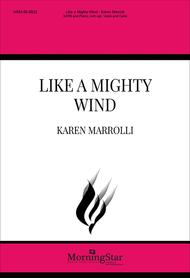 Like a Mighty Wind (Choral Score)