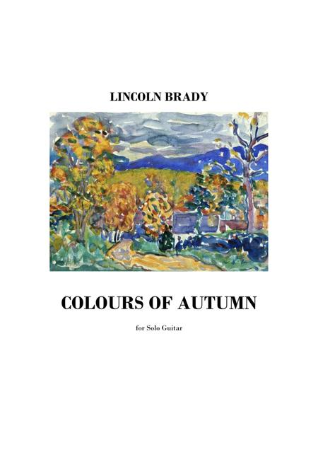 COLOURS OF AUTUMN - Solo Guitar