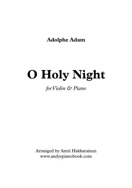 O Holy Night - Violin & Piano