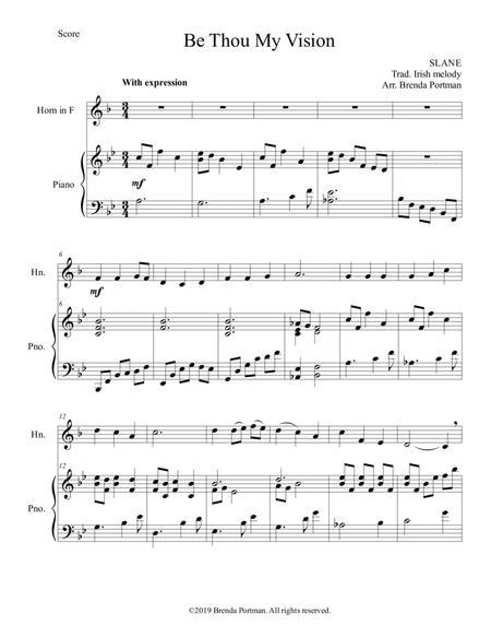 Be Thou My Vision (horn/piano), arr. Brenda Portman