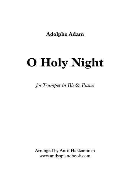 O Holy Night - Trumpet & Piano