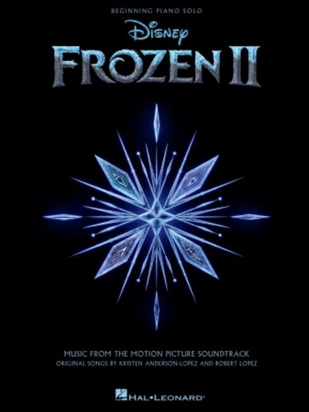 Frozen 2 Beginning Piano Solo Songbook