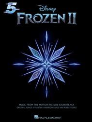 Frozen 2 Five-Finger Piano Songbook