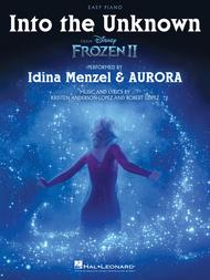 Into the Unknown (from Frozen 2) - Easy Piano Sheet Music