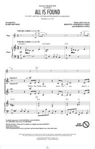All Is Found (from Disney's Frozen 2) (arr. Mark Brymer)
