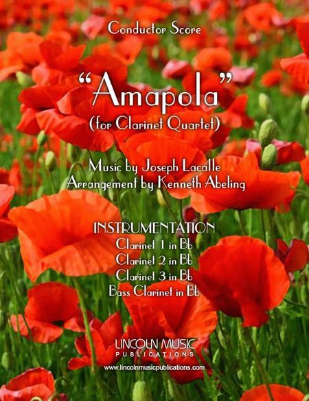Amapola (for Clarinet Quartet)