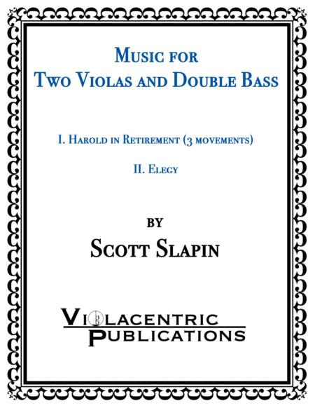 Music for Two Violas and Double Bass
