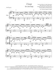 Creep - Radiohead (for solo pedal harp)