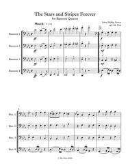 Stars and Stripes Forever (for Bassoon Quartet)