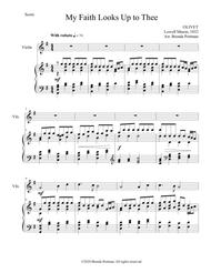 My Faith Looks Up to Thee (violin/piano), arr. Brenda Portman