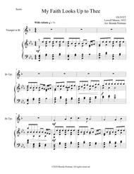 My Faith Looks Up to Thee (trumpet/piano), arr. Brenda Portman