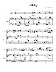 Lullaby for Clarinet and Piano