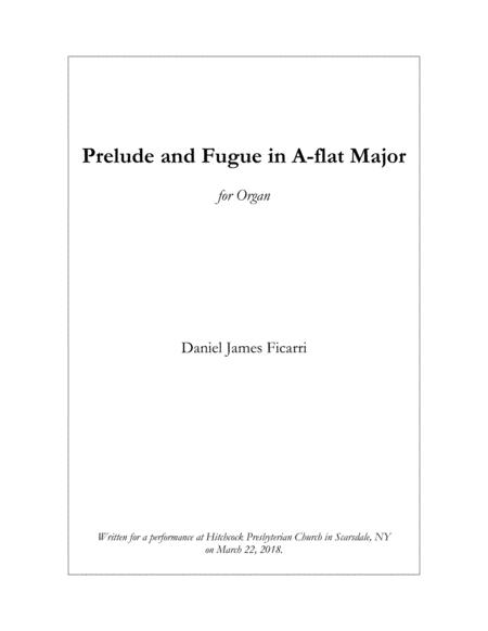 Prelude and Fugue in A-flat Major