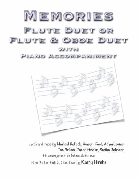 Memories - Flute Duet or Flute & Oboe Duet