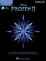 Frozen 2 Violin Play-Along