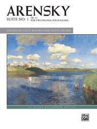Arensky -- Suite No. 1, Op. 15 (2p, 4h)
