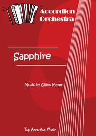 SAPPHIRE (Accordion orchestra full score and parts)