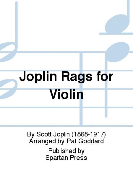Joplin Rags for Violin