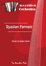 RUSSIAN FANTASY (Accordion orchestra full score and parts)