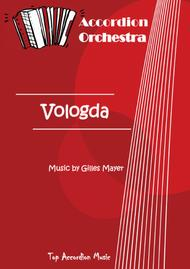 VOLOGDA (Accordion orchestra full score and parts)
