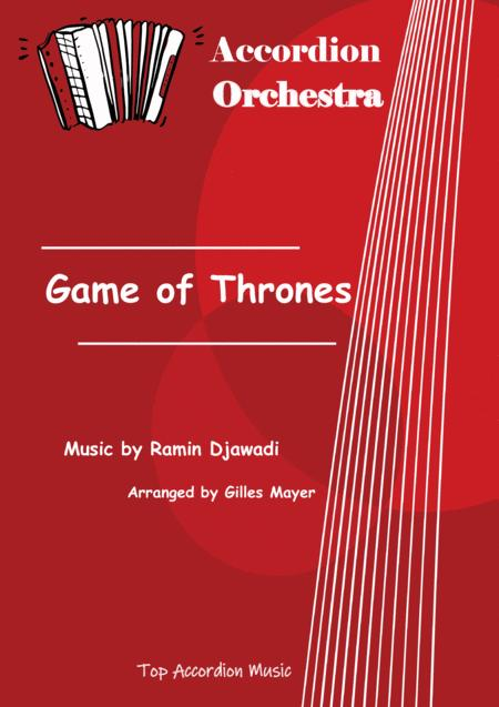 GAME OF THRONES (Accordion orchestra full score and parts)