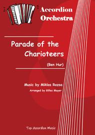 PARADE OF THE CHARIOTEERS (Accordion orchestra full score and parts)