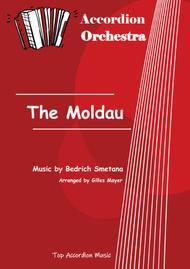 THE MOLDAU B. Smetana (Accordion orchestra sheet music full score and parts)