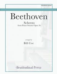 Beethoven Scherzo Woodwind Quintet score and parts