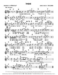 Imagine John Lennon Lead Sheet Key Of G By John Lennon Digital Sheet Music For Piano Solo Piano Vocal Chords Piano Accompaniment Organ Flute Oboe Clarinet English Horn Bassoon Alto Sax Tenor Sax Soprano Sax Trumpet Violin Viola Voice Soprano
