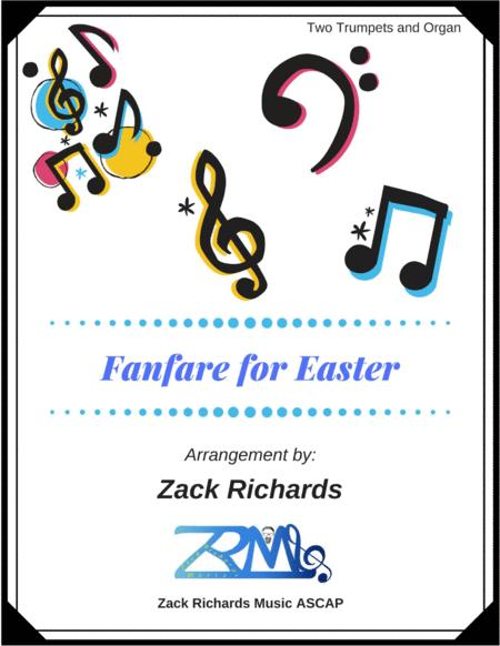 Fanfare for Easter for Trumpet Duet and Organ