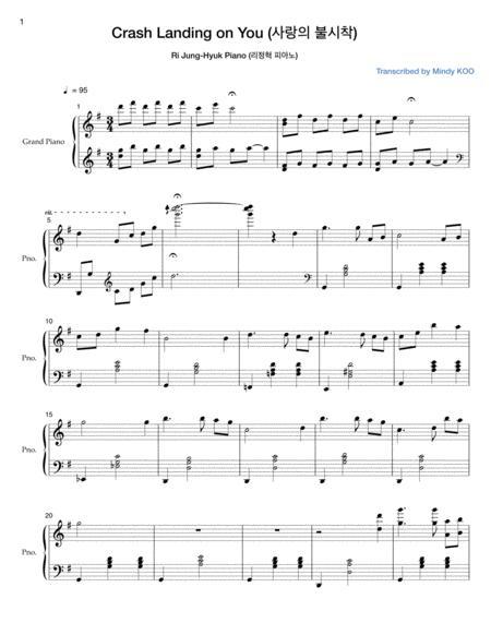 Crash Landing on You (사랑의 불시착), Ri Jung-hyuk Piano Song