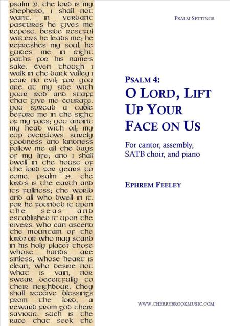 Psalm 4: O Lord, Lift Up Your Face on Us