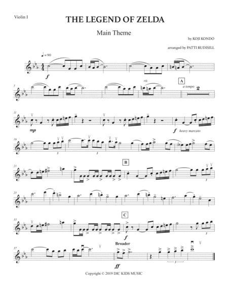 The Legend Of Zelda: Main Theme (String Quartet)