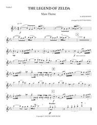 The Legend Of Zelda: Main Theme (String Quartet)  Digital Sheet Music  ByKoji Kondo