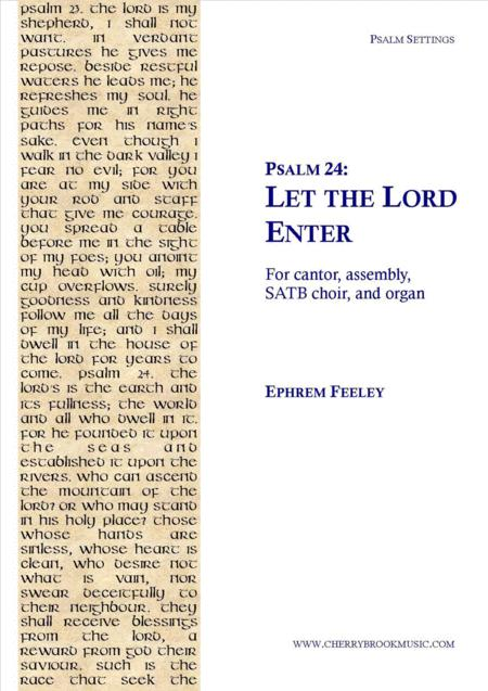 Psalm 24: Let the Lord Enter