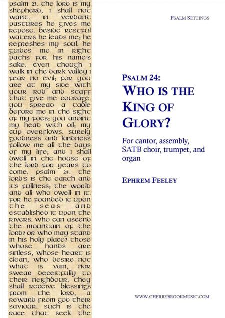 Psalm 24: Who is the King of Glory?