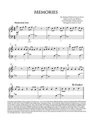 Memories Maroon 5 Easy Piano By By Maroon 5 Digital Sheet Music For Sheet Music Single Download Print H0 710829 Sc004092818 Sheet Music Plus