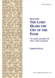 Psalm 33: The Lord Hears the Cry of the Poor