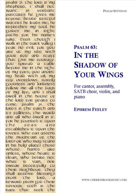 Psalm 63: In the Shadow of Your Wings