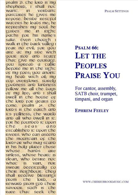 Psalm 66: Let the Peoples Praise You