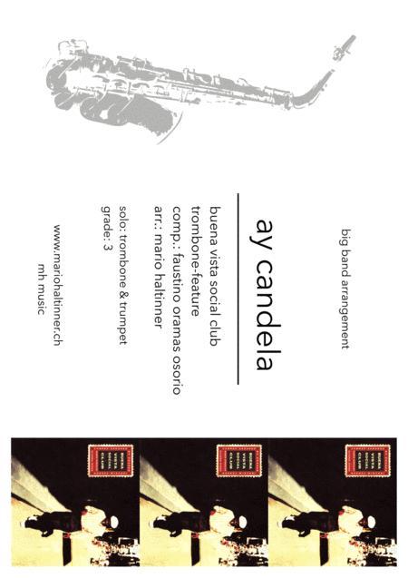 Ay Candela - Buena Vista Social Club - Jazz Ensemble - score & parts