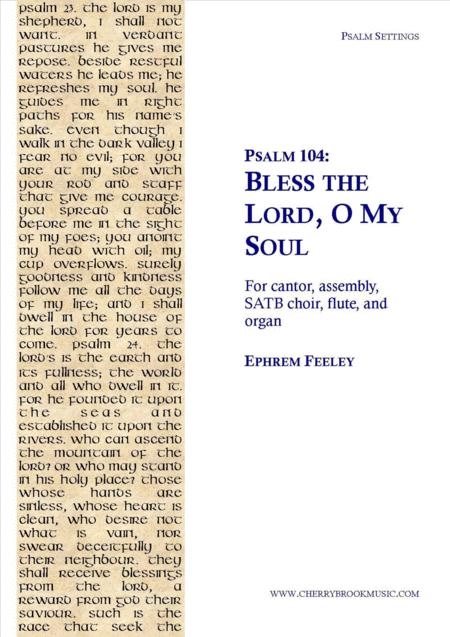 Psalm 104: Bless the Lord, O My Soul