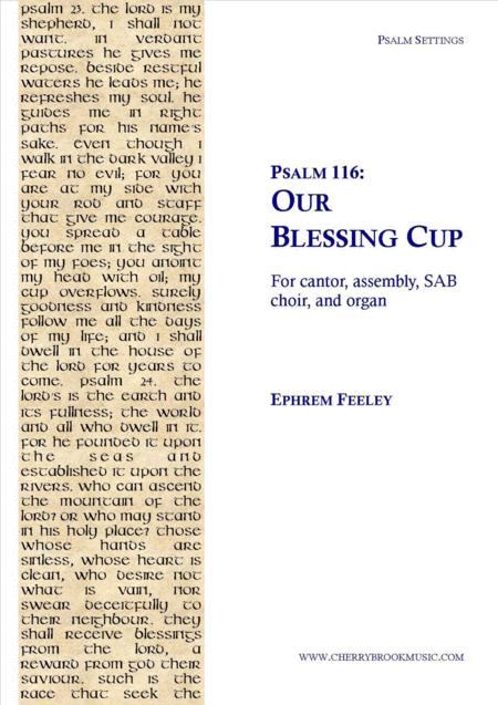 Psalm 116: Our Blessing Cup