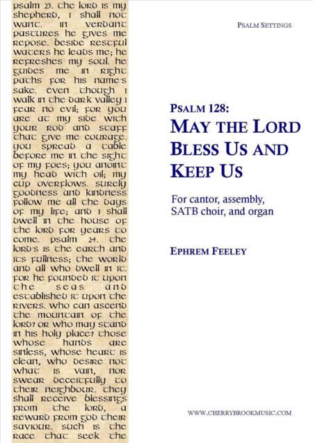Psalm 128: May the Lord Bless Us and Keep Us